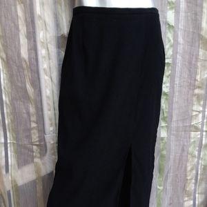 Dresses & Skirts - 3 for $25 Large Pencil Skirt Long Front Slit Gothi